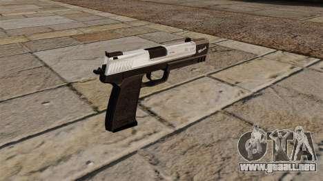 Partido de pistola HK USP para GTA 4 segundos de pantalla