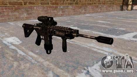 Carabina M4 automático alcance híbrido para GTA 4