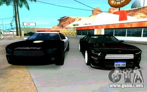 Police Buffalo GTA V para la visión correcta GTA San Andreas