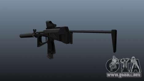 Ametralladora pp-2000 v1 para GTA 4 segundos de pantalla