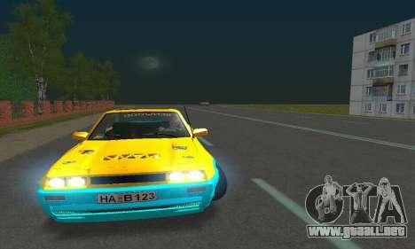 Opel Manta Mattig Extreme para visión interna GTA San Andreas