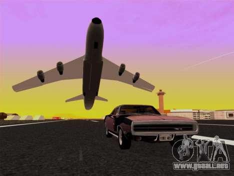 SA_RaptorX v2.0 para PC débil para GTA San Andreas novena de pantalla