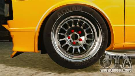 Volkswagen Caddy para GTA 4 vista hacia atrás