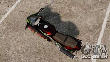 GTA IV TLAD Hakuchou para GTA 4 Vista posterior izquierda