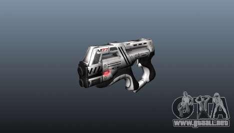 Pistola M77 Paladin para GTA 4