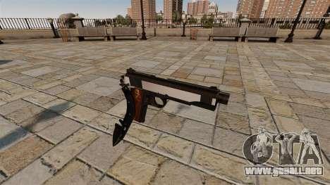 Pistola Colt 1911 cuchillo para GTA 4