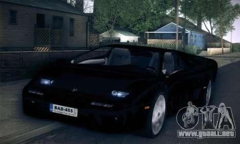Lamborghini Diablo VT6.0 para la visión correcta GTA San Andreas