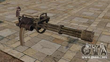 Ametralladora para GTA 4