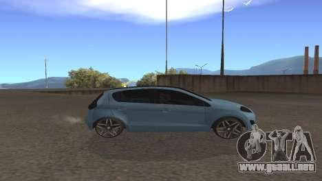 Fiat Palio 2014 para GTA San Andreas vista posterior izquierda