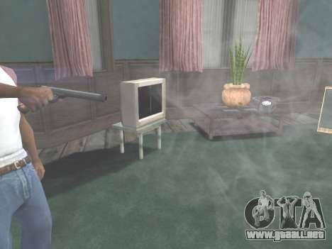 Ruger .22 para GTA San Andreas quinta pantalla