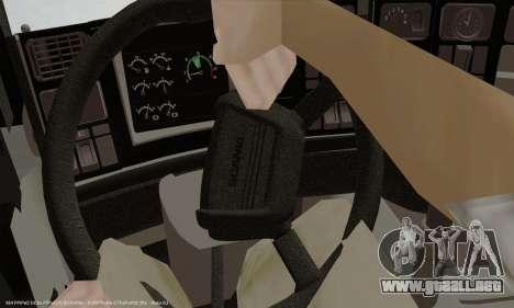 Tablero de instrumentos activos v3.2 completo para GTA San Andreas sucesivamente de pantalla