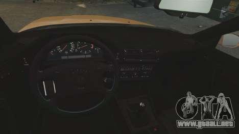 BMW M5 1995 para GTA 4 vista interior