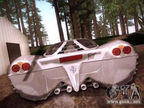 Ferrari P7 Chromo para la vista superior GTA San Andreas