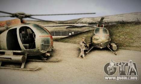 Spec Ops The Line AH6 para GTA San Andreas