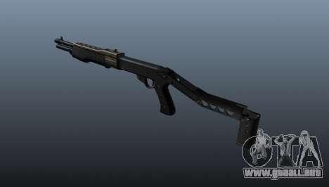 Escopeta Franchi SPAS-12 para GTA 4 segundos de pantalla