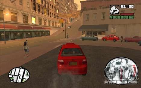 Speedometr da Rockstar para GTA San Andreas tercera pantalla