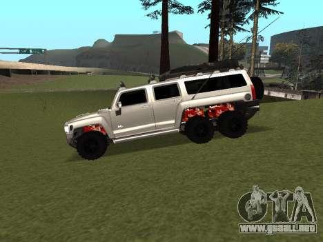 Hummer H3 6x6 para GTA San Andreas left