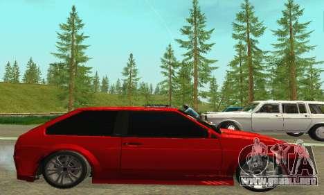VAZ 2108 Aarr estilo para GTA San Andreas vista posterior izquierda