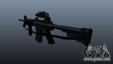 Automático carabina M4A1 Grip para GTA 4 segundos de pantalla