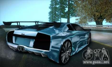 Lamborghini Murcielago GT Coloured para GTA San Andreas left
