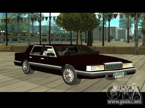Willard HD (Dodge dynasty) para GTA San Andreas