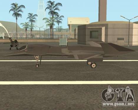 FA-37 Talon para GTA San Andreas left