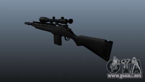 El fusil semiautomático M14 para GTA 4 segundos de pantalla