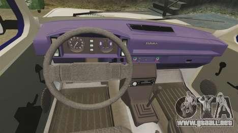 Zastava Yugo 128 para GTA 4 vista lateral