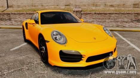 Porsche 911 Turbo 2014 [EPM] para GTA 4