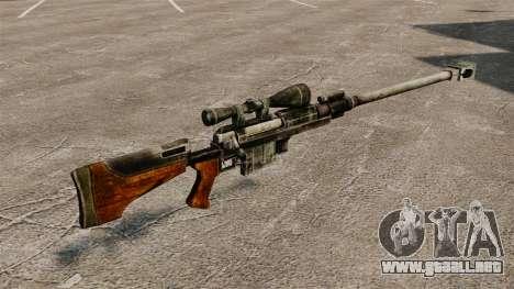 Anti-material rifle para GTA 4 segundos de pantalla