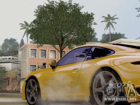 RUF RGT-8 para GTA San Andreas vista posterior izquierda
