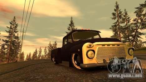 GAZ 53 para GTA 4 vista superior