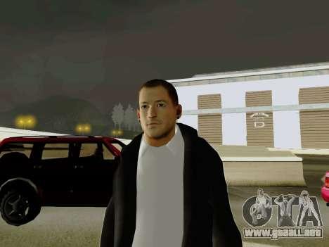 Chester Bennington para GTA San Andreas segunda pantalla