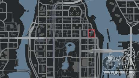 Estación de policía, mapache para GTA 4 sexto de pantalla