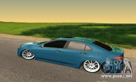 Honda Accord Tuning para GTA San Andreas vista hacia atrás