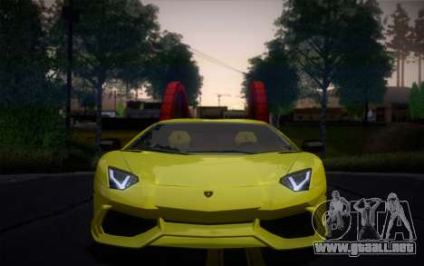 Lamborghini Aventador LP720-4 50th Anniversario para GTA San Andreas