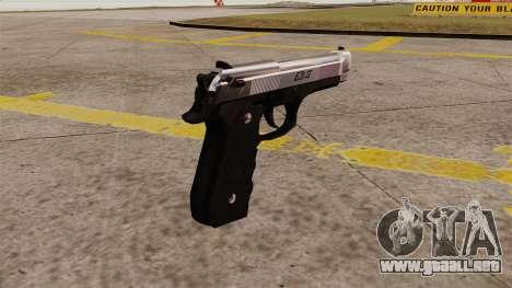 Carga automática pistola Beretta M92 para GTA 4 segundos de pantalla