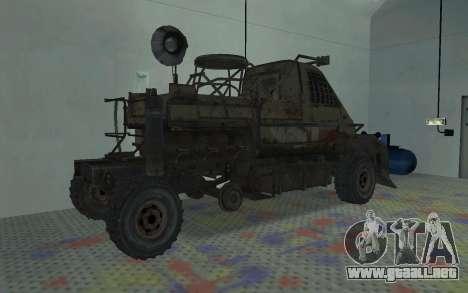 Gacela de la Metro 2033 para la visión correcta GTA San Andreas