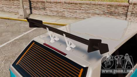 Extreme Spoiler Adder 1.0.7.0 para GTA 4 octavo de pantalla