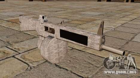 La escopeta AA-12 Invierno para GTA 4