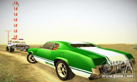 GTA IV Sabre Turbo para la visión correcta GTA San Andreas