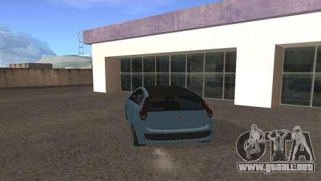 Fiat Palio 2014 para la visión correcta GTA San Andreas