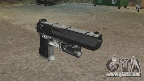 Desert Eagle pistola MW2 para GTA 4