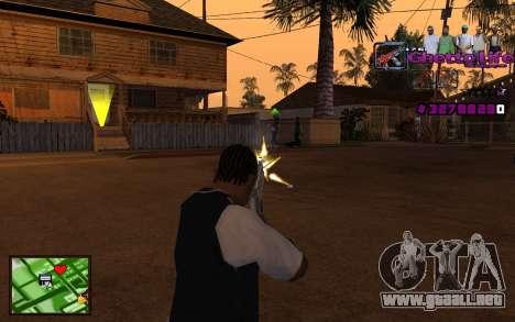 Con la vida de HUD-Getto para GTA San Andreas tercera pantalla