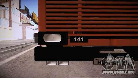 Scania LK 141 6x2 para GTA San Andreas vista posterior izquierda