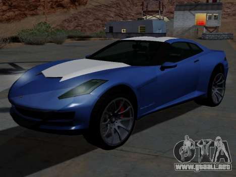 Coqueta de GTA 5 para GTA San Andreas