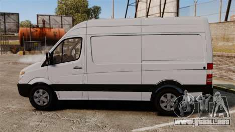 Mercedes-Benz Sprinter 2500 2011 v1.4 para GTA 4 left