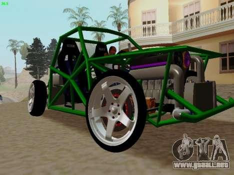 Nocturnal Motorsports Coyote para la visión correcta GTA San Andreas