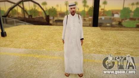 Jeque Árabe para GTA San Andreas