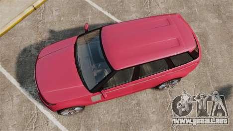 GTA V Gallivanter Baller [Update] para GTA 4 visión correcta